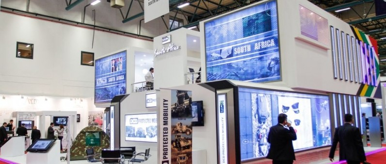 Exhibition Stand South Africa : South africa idef detaytasarım exhibition stand